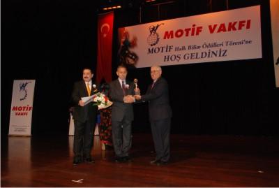 Motif Vakfı Ödülleri Dağıtıldı