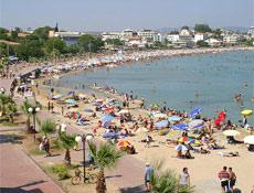 Kilyos plajı vatandaşlara açıldı
