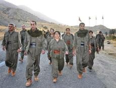 Alkışlananlar hacı değil PKK'lı!