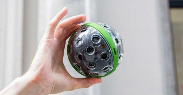 360 derece çekim yapan yuvarlak kamera: Panono