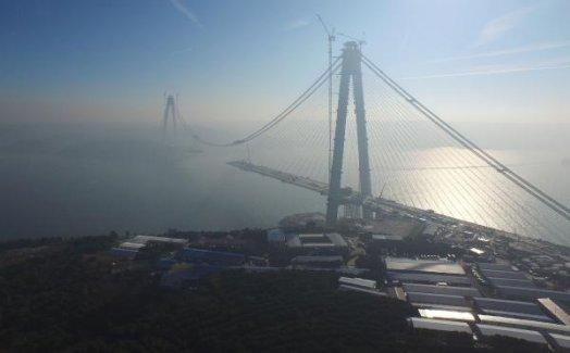 3. Boğaz Köprüsüde Birleşmeye 391 Metre Kaldı