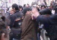 Ahmet Türk'e yumruklu saldırı
