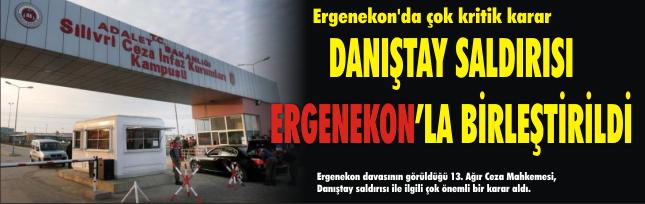 Ergenekon'da çok kritik karar