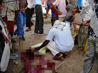 Halkın önünde infaz