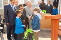 Başakşehir Kayabaşı Çamlık İlköğretim Okulu na kardeş okul ziyareti