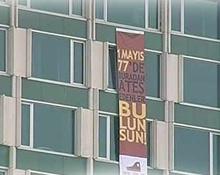 İşte günün en anlamlı pankartı