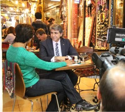 Başkan Demir,CNN International'da