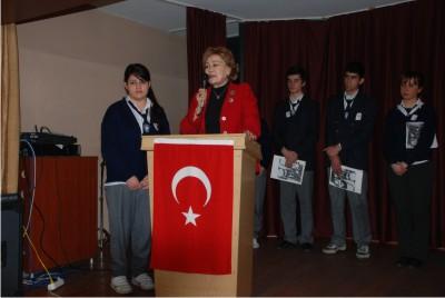 Atatürk'ün Manevi Kızı Ülkü Adatepe İhsan Mermerci'de