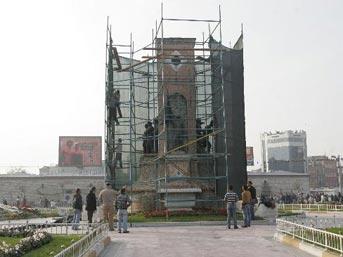 İşte  yeni  Taksim Cumhuriyet Anıtı