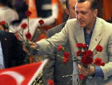 Erdoğan'dan şehit evine ziyaret