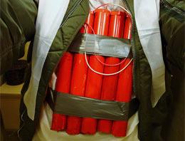 Levent'te canlı bomba paniği