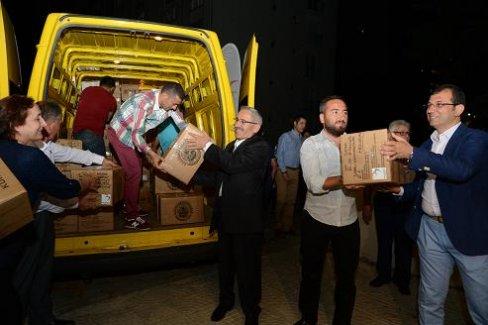 5 Bin Koli Beylikdüzü'nden Türkiye'ye Yola Çıktı