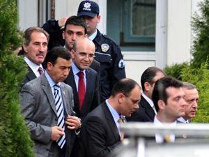 Erdoğan'ın İstanbul'daki evinde mini zirve