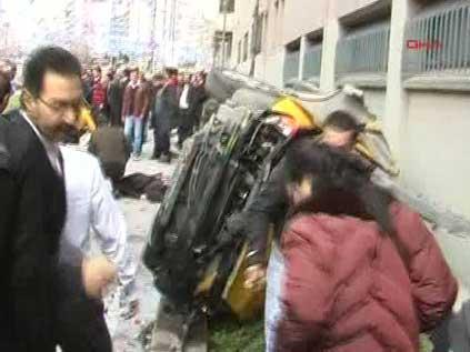 Harbiye'de taksi dehşeti