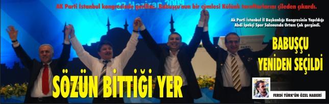 AK Parti kongresi kıran kırana