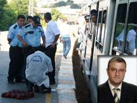 Trene binmeye çalışan mühendisin ayakları koptu
