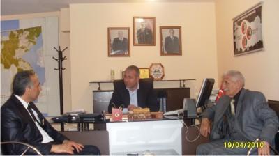 Nurettin Koç MHP 'yi ziyaret etti