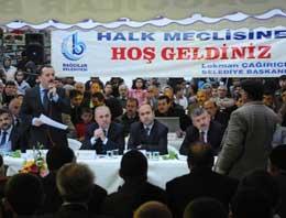 Bağcılar'da halk meclisi toplandı