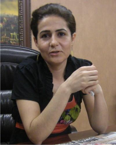 Nusaybinlilere kadın başkan