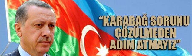 Erdoğan'dan Aliyev'e Karabağ güvencesi