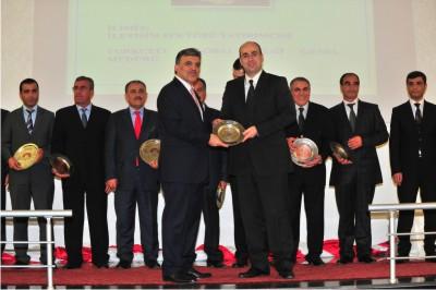 Turkcell Global'a Cumhurbaşkanından Plaket