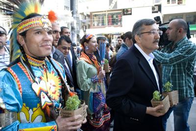 Kızılderililer Zeytinburnu'nda