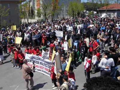 Derbent Yıkım Protestosu