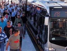 Metrobüste indirimli aktarma iptal
