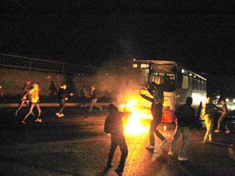 İstanbul dün gece dehşeti yaşadı