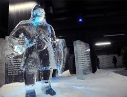 Buzdan heykeller müzesi açılıyor