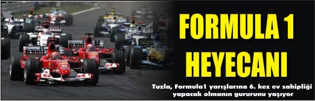 Formula 1 heyecanı