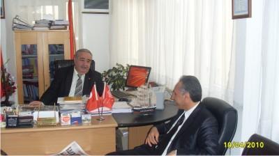 Nurettin Koç CHP 'yi ziyaret etti