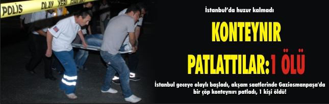 İstanbul'da terör saldırısı