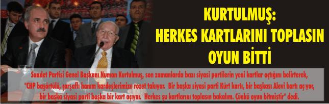 HERKES KARTLARINI TOPLASIN OYUN BİTTİ