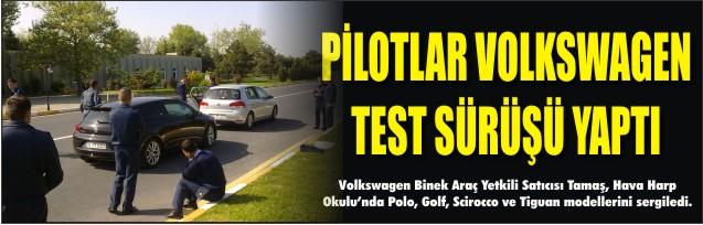Volkswagen yüksekleri hedefledi