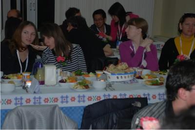 Turist öğrenciler Zeytinburnu'nda