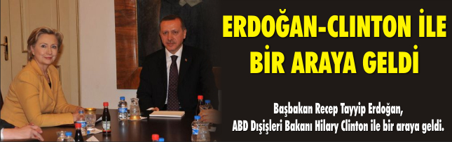 Erdoğan Clınton İle Bir Araya Geldi
