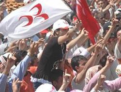 MHP'liler başkan adayını ti'ye aldı