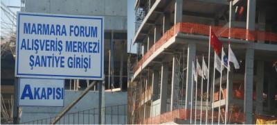 Marmara Forum AVM.Tarfiği Felç Edecek
