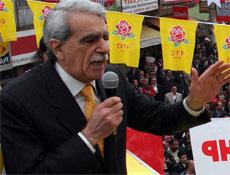 Ahmet Türk askerin sözüne taktı