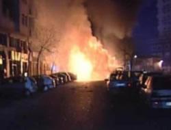 Samatya'da doğalgaz patladı!