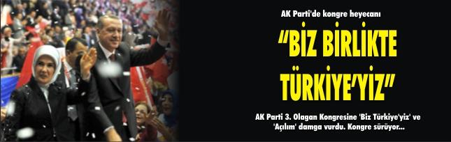 AK Parti'de kongre heyecanı