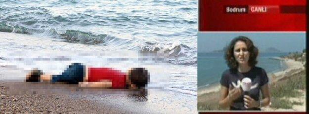 Acı fotoğrafı çeken muhabir o anları anlattı