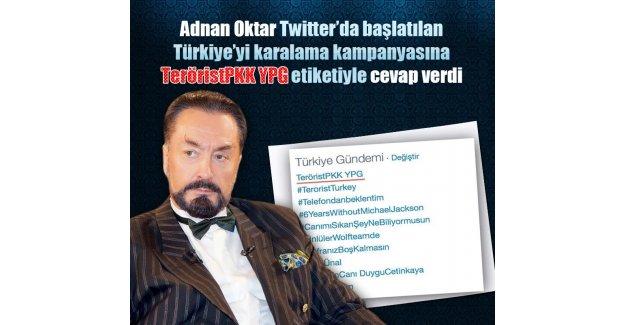 Adnan(Hoca) Oktar Türkiye'yi suçlayanlara ateş püskürdü
