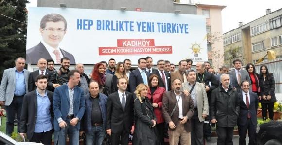 AK Parti Kadıköy İlçe Başkanından Basın Açıklaması