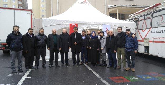 Ak Parti Mahalle Teşkilatından Kan Bağışı