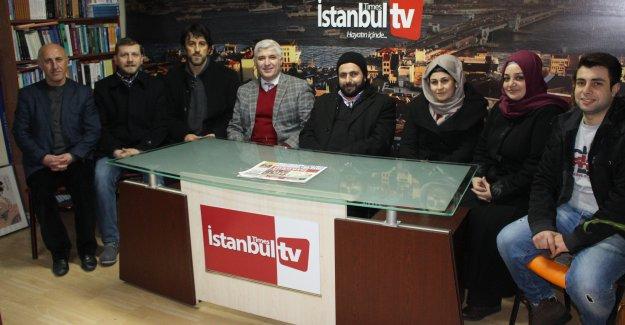 Ak Parti Sümer Mahalle Teşkilatı Gazeteciler Günümüzü Kutladı