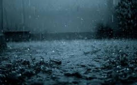 Akşam saatlerinde başlayan yağmur gece boyu devam etti