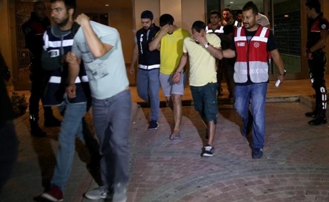 Günübirlik kiralık rezidans dairelere operasyon: 21 gözaltı