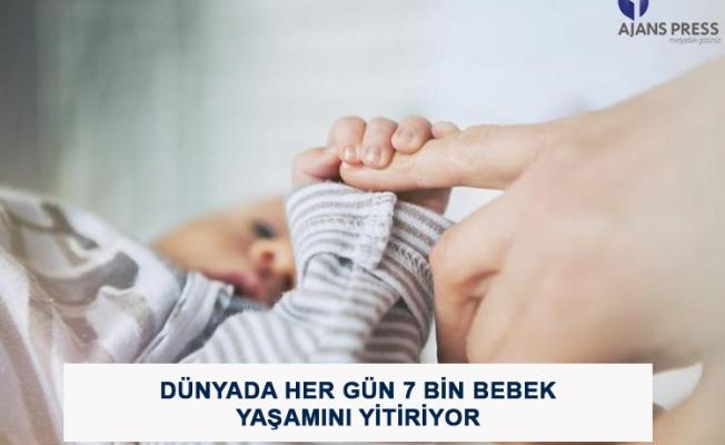 Dünyada Her Gün 7 Bin Bebek Yaşamını Yitiriyor